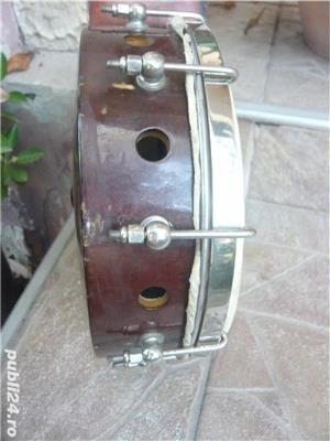 Banjo, mandolina de colectie 1920, 8 corzi  - imagine 5