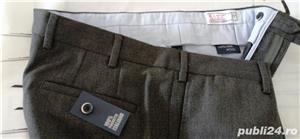 Pantaloni barbatesti din lana /bbc import Italia - imagine 1