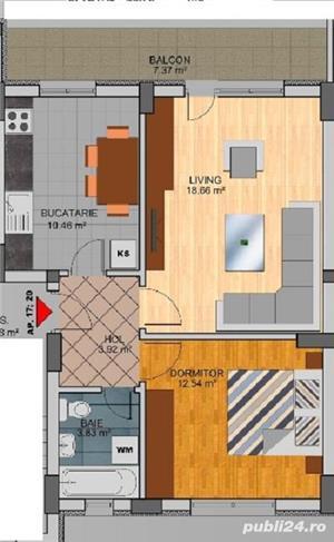 Apartament 2 camere - Direct Dezvoltator - Metrou Dimitrie Leonida - imagine 1