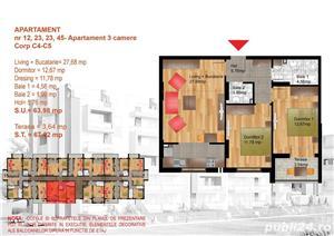 Apartament 3 camere decomandat,metrou Dimitrie Leonida - imagine 8