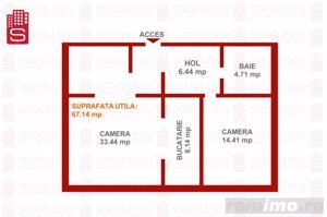 Apartament 2 camere strada Musicescu - Braytim - imagine 3