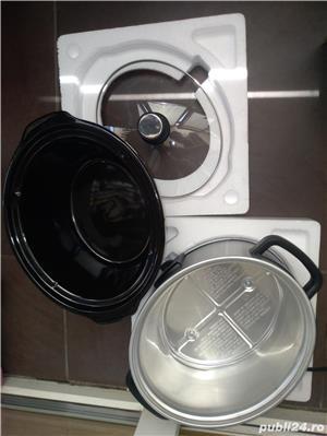 Aparat de gatit Slow cooker Silver Crest Lidl 3.5 L - imagine 4