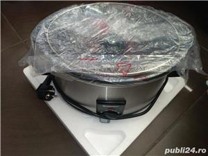 Aparat de gatit Slow cooker Silver Crest Lidl 3.5 L - imagine 2