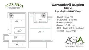 Garsoniera + Terasa 27,73 MP - Comision 0% - Adiacenta Soseaua Oltenitei - imagine 1