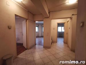 Decebal 3 camere etaj 1/7 decomandat, 2 bai 74 mp fara imbunatatiri - imagine 2