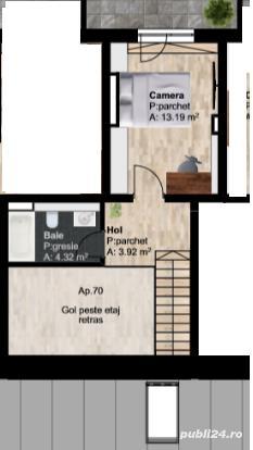 Apartament pe 2 nivele imobil nou,Traian Vuia 17 - imagine 4