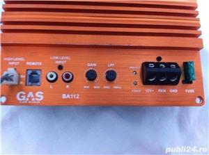 Amplificator Gas cl.D max.600W Hertz Audison Alpine pioneer Statie jbl yamaha denon mtx sony woofer - imagine 3