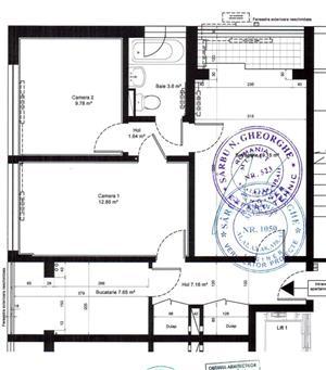 Apartament luminos , 3 camere,  renovat, si mobilat - imagine 2