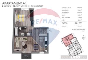 0% COMISION - Apartament de vanzare 2 camere - Marasti - imagine 3