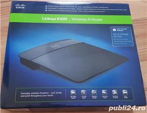 Router Wireless Linksys E1200, N 300 Mbps, 4 x 10/100 Mbps - imagine 1