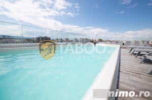 Apartament 3 camere 3 balcoane piscina comuna zona Doamna Stanca Sibiu - imagine 11