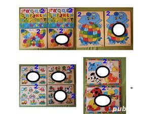 Puzzle, lego, olita tip masina - imagine 3