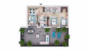 Apartament 3 camere - Titan Park - Metrou Nicolae Teclu la 8 minute - imagine 2