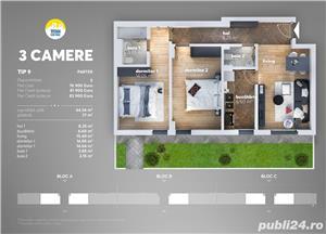 Apartament 3 camere cu Gradina - Titan Park - Metrou Nicolae Teclu - imagine 2