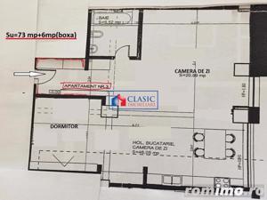 Inchiriere Apartament 2 camere 73 mp in Marasti, Sens Giratoriu - imagine 12