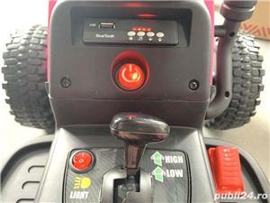 Tractor electric cu remorca pentru copii BLOW TRUCK (MX-611) Verde - imagine 3