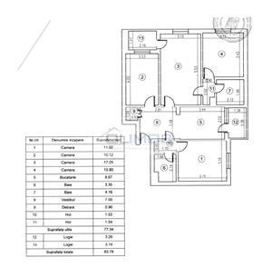De vanzare apartament 4 camere Aparatorii Patriei - imagine 4