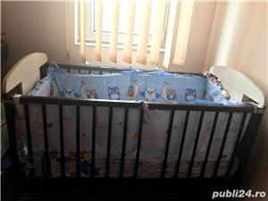 Saltea bebe + lenjerie noi gratis pătuț  - imagine 1