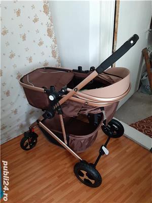 Vând cărucior bebe nou - imagine 2