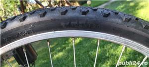"Bicicleta marvel roti pe 26"" 21 viteze full echipata full schimano tourney - imagine 5"