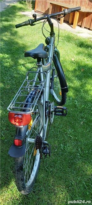 "Bicicleta marvel roti pe 26"" 21 viteze full echipata full schimano tourney - imagine 2"