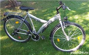 "Bicicleta marvel roti pe 26"" 21 viteze full echipata full schimano tourney - imagine 3"