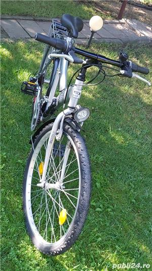 "Bicicleta marvel roti pe 26"" 21 viteze full echipata full schimano tourney - imagine 1"