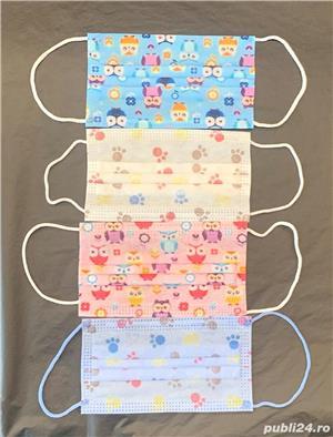 Masca de protectie de unica folosinta pentru copii - imagine 2