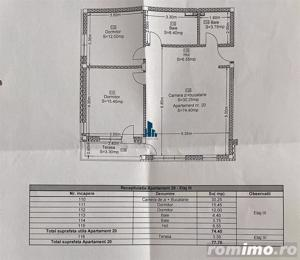 Apartament 3 camere, S-75mp+ 3mp balcon, Green Residence, Floresti - imagine 13