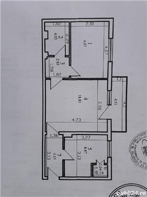 apartament 2cam 52+4mp - imagine 1