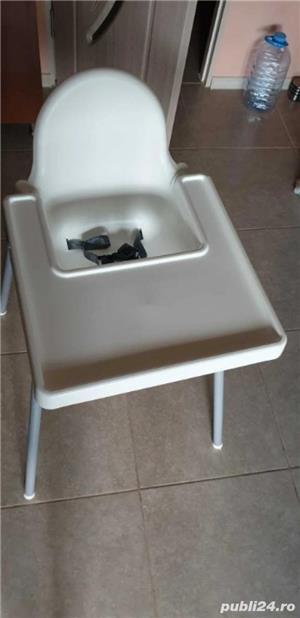 scaun pentru copil cu tava  - imagine 3