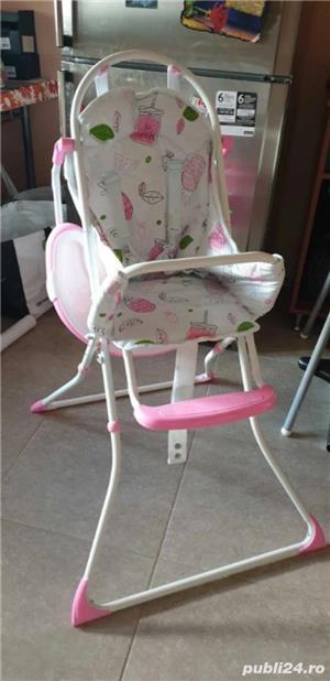scaun pentru copil cu tava  - imagine 5