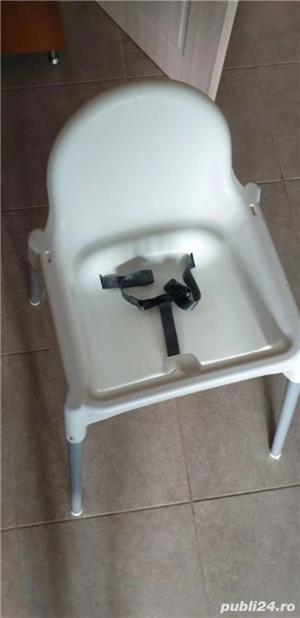 scaun pentru copil cu tava  - imagine 1