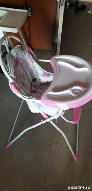 scaun pentru copil cu tava  - imagine 4