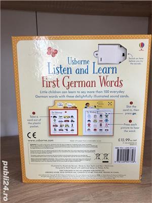 Usborne-Listen and Learn First German Words-Asculta si invata primele cuvinte in Germana - imagine 2