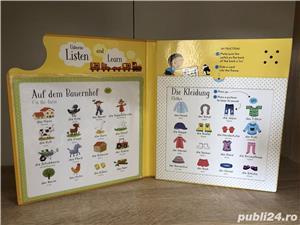 Usborne-Listen and Learn First German Words-Asculta si invata primele cuvinte in Germana - imagine 3