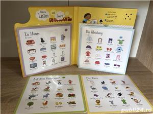 Usborne-Listen and Learn First German Words-Asculta si invata primele cuvinte in Germana - imagine 4