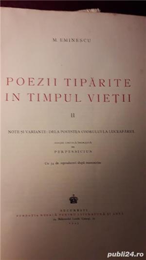 Ofer 2 volume cu OPERELE lui MIHAIL  EMINESCU   - imagine 4