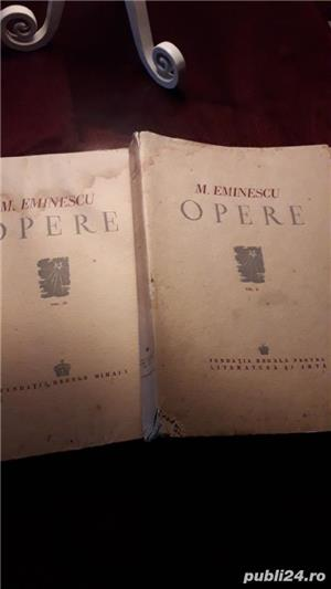 Ofer 2 volume cu OPERELE lui MIHAIL  EMINESCU   - imagine 2
