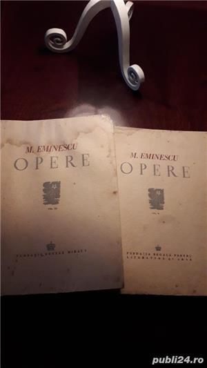 Ofer 2 volume cu OPERELE lui MIHAIL  EMINESCU   - imagine 1