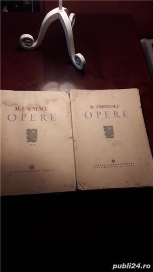 Ofer 2 volume cu OPERELE lui MIHAIL  EMINESCU   - imagine 6