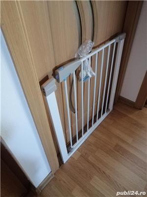 Poarta de siguranta Lindam pentru copii - imagine 2