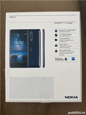 Nokia 8 blue 64 GB  - imagine 4