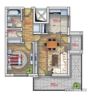 Comision 0% - Apartament 2 camere lux Emil Racovita - imagine 2
