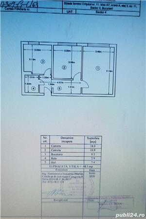Ap. 2 camere, Decomandat, Zona Brancoveanu(Izv Crisului, nr 11), loc parcare+boxa, Metrou, gradinita - imagine 8