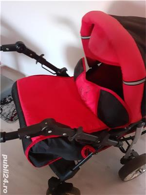 Vand carut bebe 3 in 1 Baby Sportive - imagine 1
