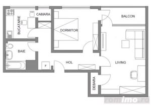Apartament 2 camere Arcul de Triumf/Domenii/Herastrau - imagine 8