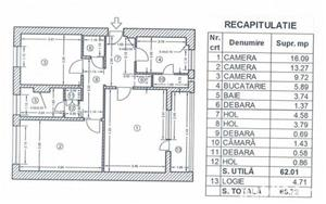 Apartament 3 camere Obregia-Stupilor ID: 6862 - imagine 1