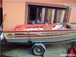 Vând barcă cu motor și trailer  - imagine 4
