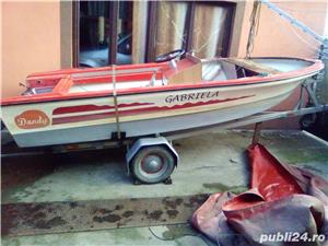 Vând barcă cu motor și trailer  - imagine 5
